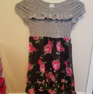 Girls dress size 6-6X